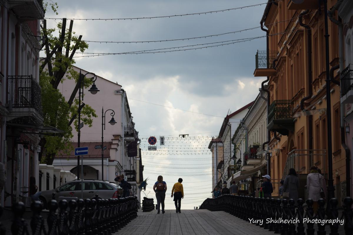 Затишна вуличка Мінська / фото Yury Shulhevich