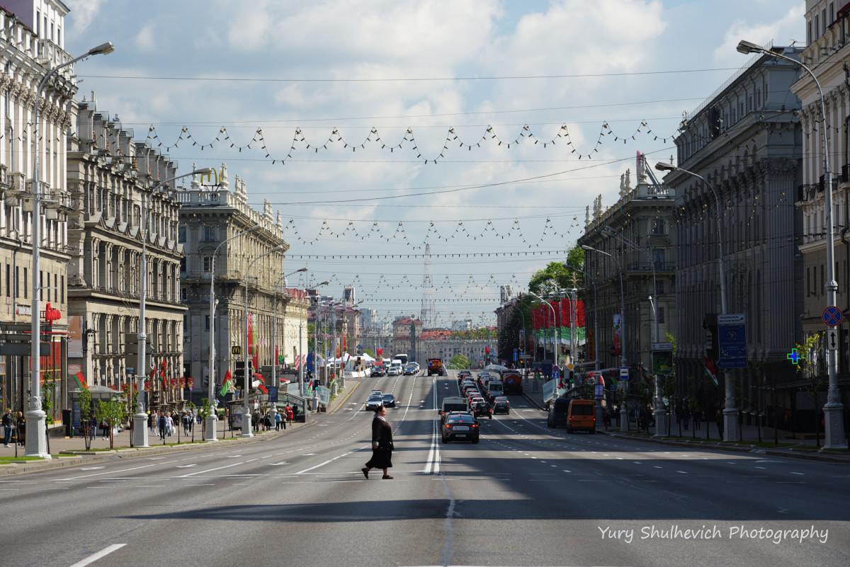 Проспект Незалежності у Мінську / фото Yury Shulhevich