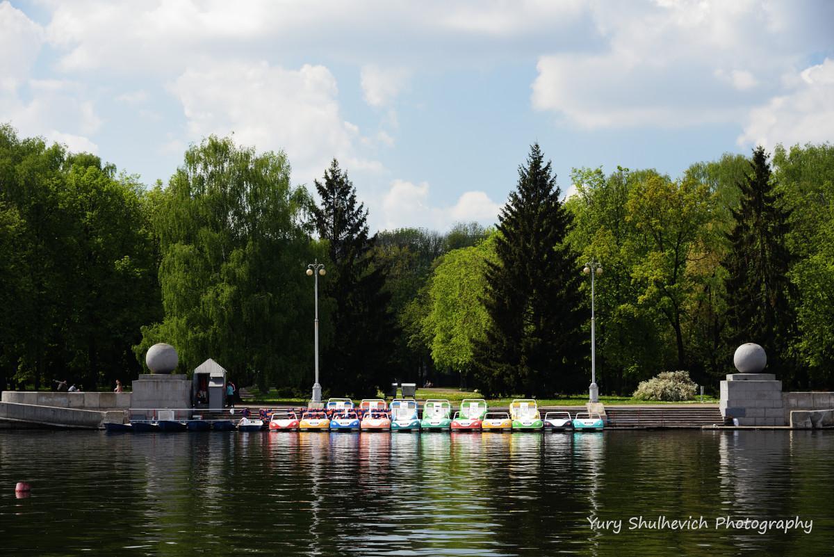 У Мінську протікає річка Свіслоч / фото Yury Shulhevich