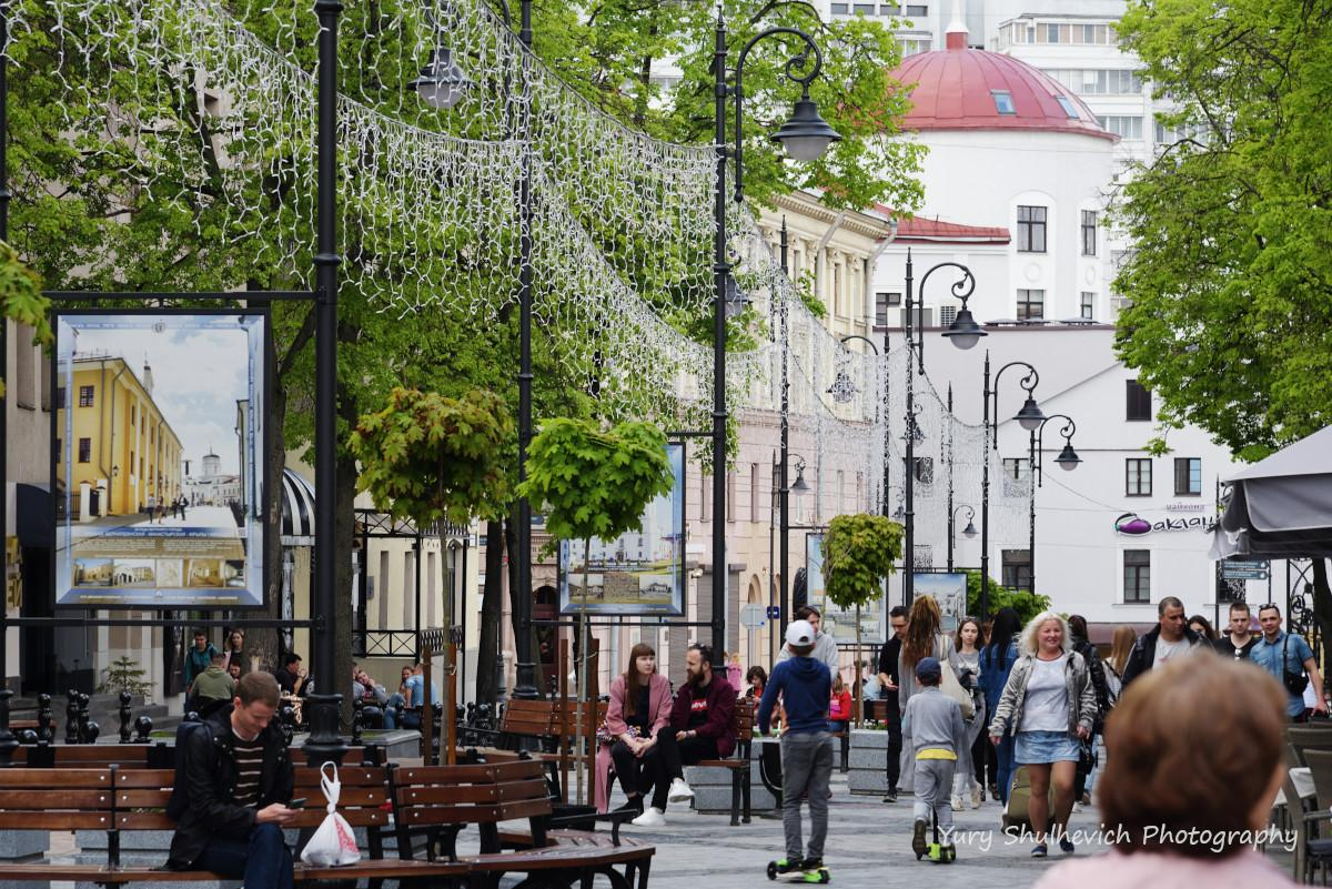 Мінськ - чисте місто / фото Yury Shulhevich