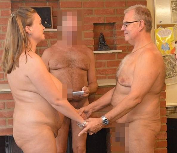 От гостей требовалось принести с собой только полотенце и крем для загара/ фото: из личного архива пары