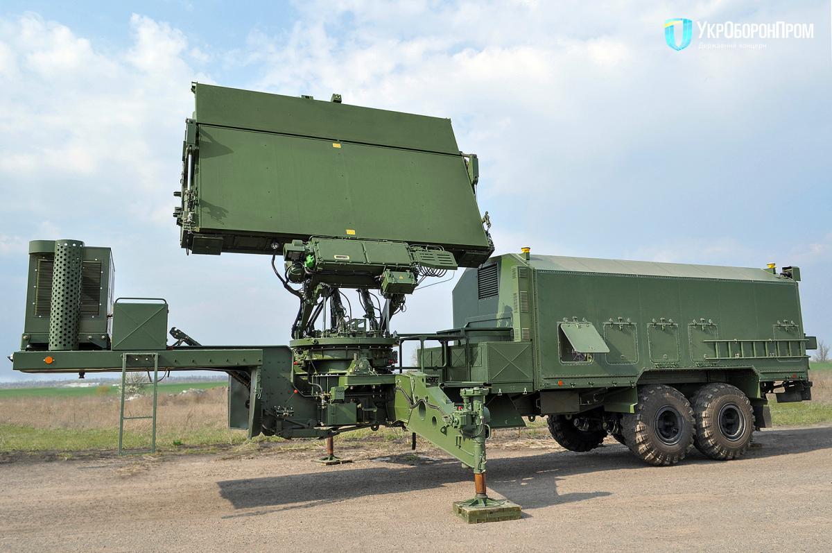 Станция 80К6КС1 является модификацией линейки радаров 79К6 и 80К6 / фото Укроборонпром