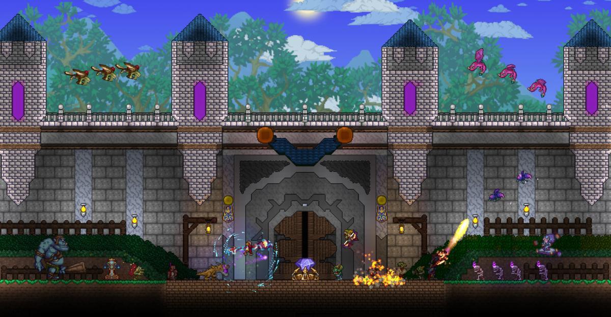 После выхода обновления в Terraria играли почти полмиллиона человек / store.steampowered.com