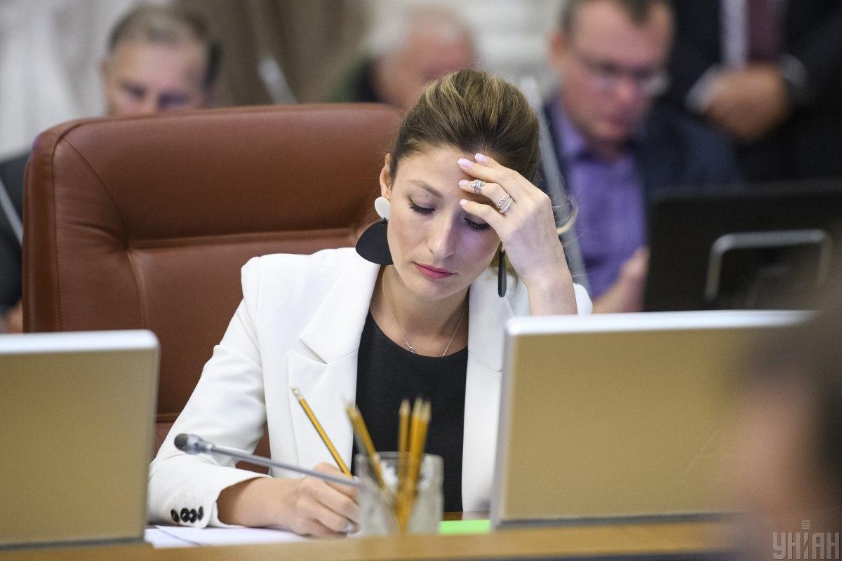 Эмине Джапарова четыре года проработала в министерстве информационной политики / фото УНИАН