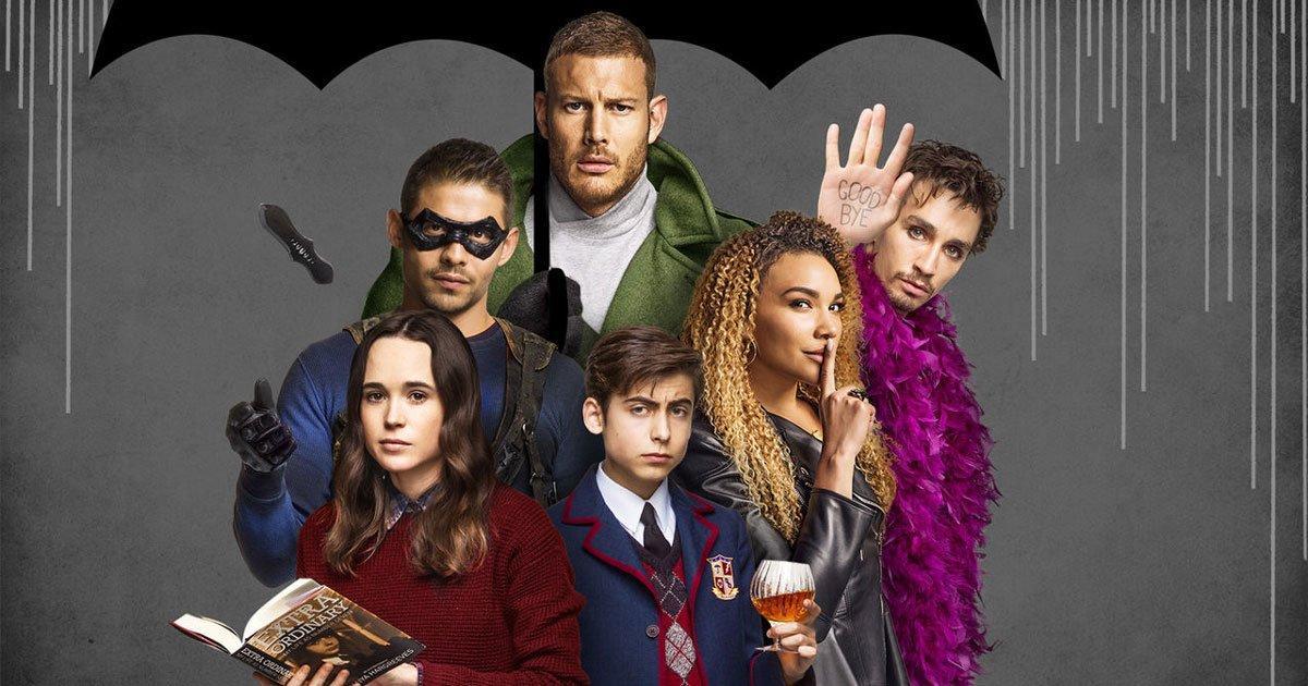 """Второй сезон сериала """"Академия Амбрелла"""" выйдет 31 июля / фото Netflix"""