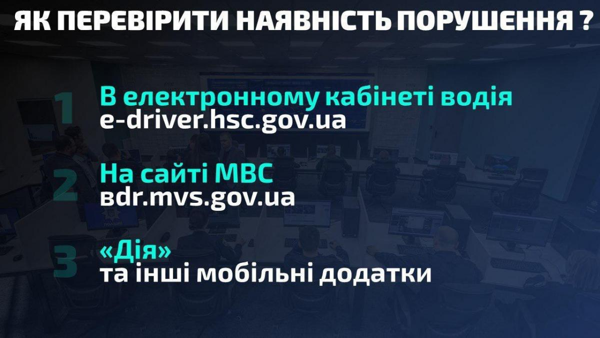 Автофиксация нарушений ПДД / фото: mvs.gov.ua