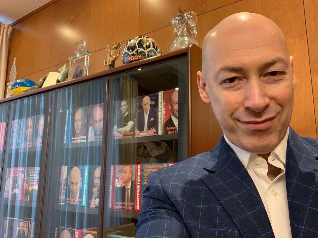 """Гордон заявил, что интервью с Гиркиным сделал """"в содружестве"""" с украинскими спецслужбами / фото instagram.com/gordondmytro"""