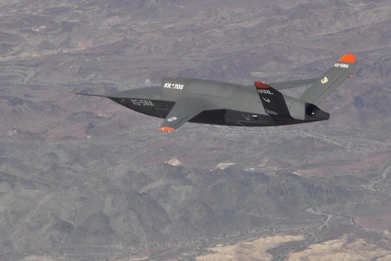 Беспилотники должны будут работать в связке с истребителями/ Фото: US Air Force