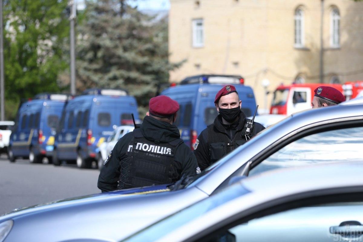 Відомості за цим фактом зареєстровані у Печерському управлінні поліції / Фото УНІАН