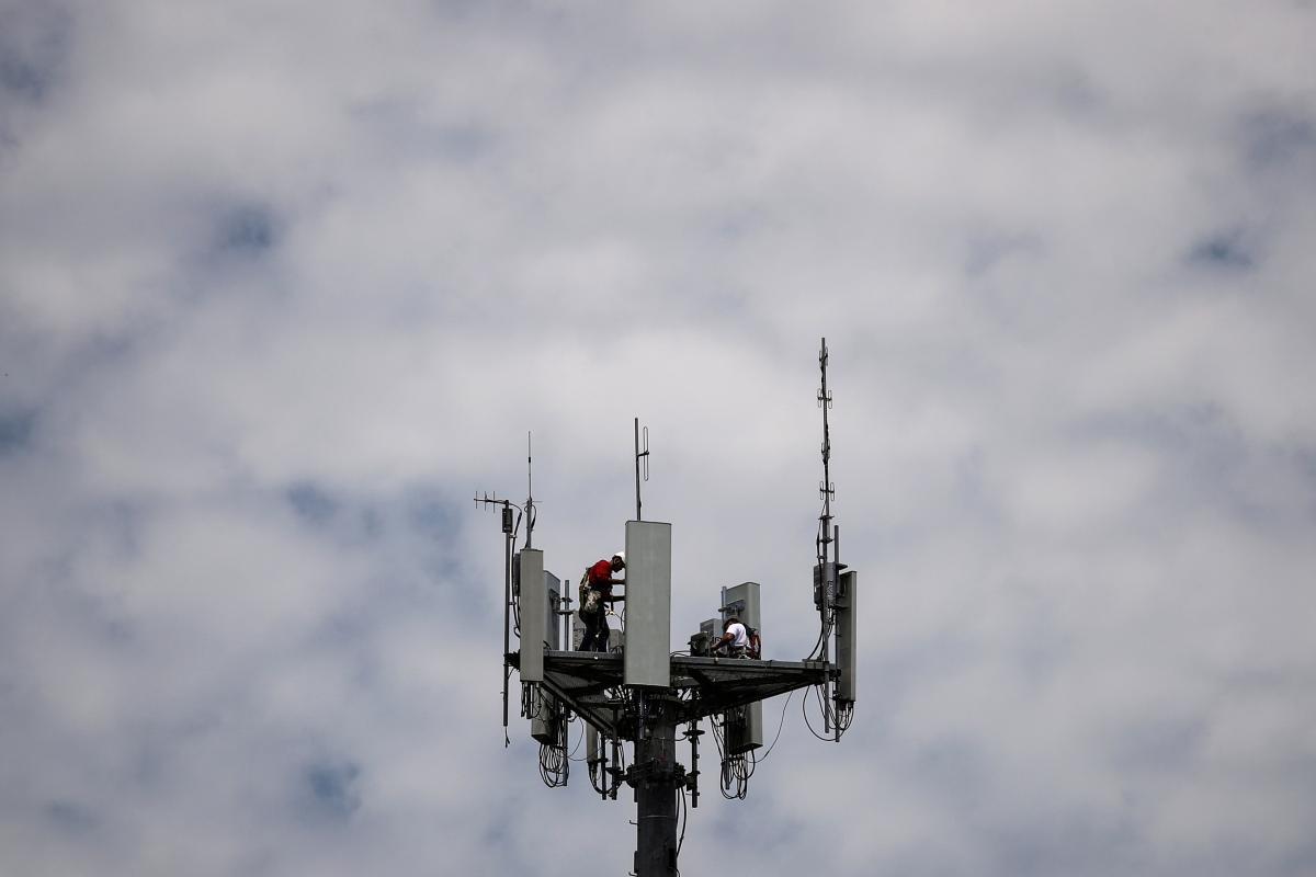 Причиной отсрочки внедрения 5G стало отсутствие государственного финансирования / фото Reuters