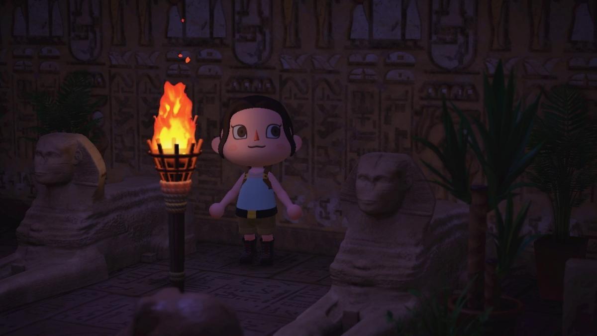Разработчики создали костюмы в стиле Лары Крофт для Animal Crossing / tombraider.tumblr.com