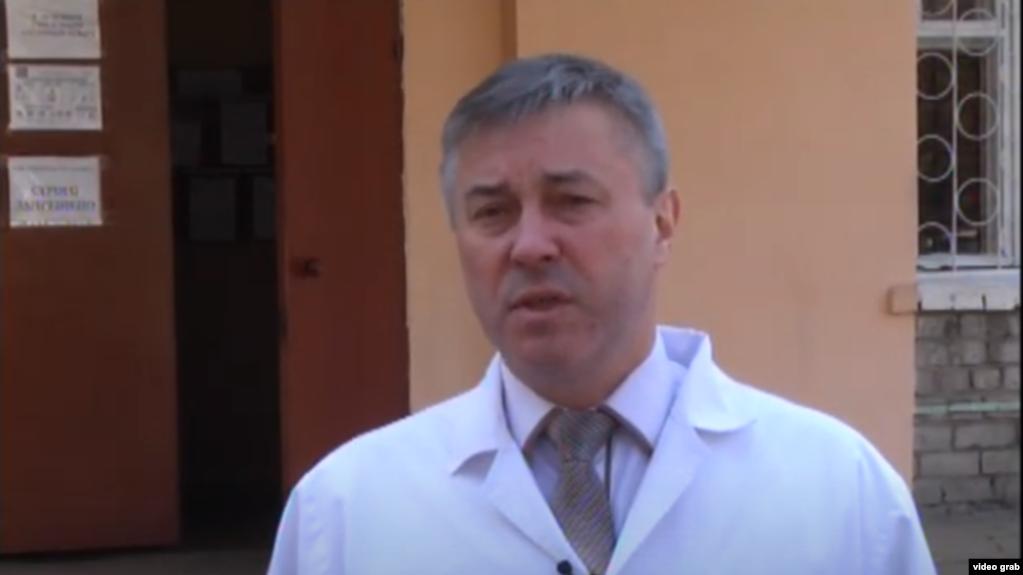 Врач получил положительный тест 1 мая, тогда же недугом заразились его жена и ребенок / radiosvoboda.org