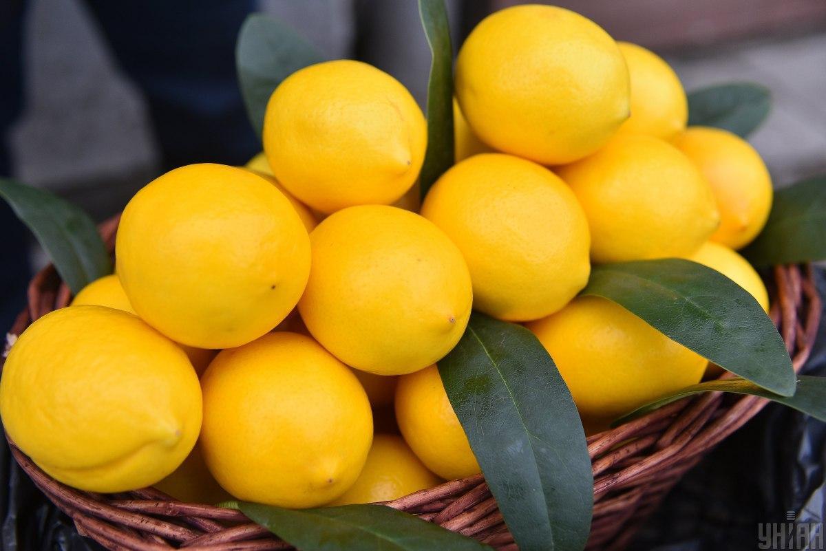 В Україні зростають ціни на лимони