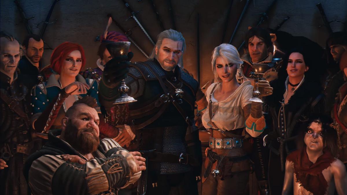 Ровно 5 лет назад состоялся релиз The Witcher 3: Wild Hunt / скриншот