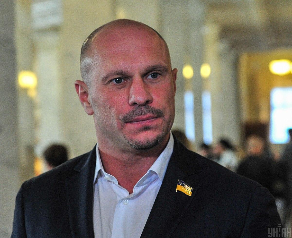 """Політик обіцяє, що вже скоро він """"наведе порядок"""" в Україні / фото - УНІАН"""