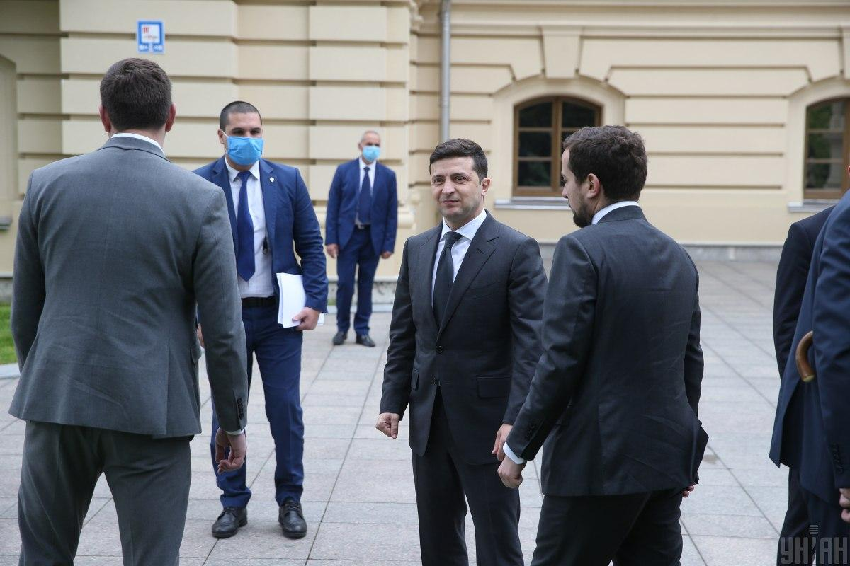 Zelensky says his closest circle consists of people he trusts / Photo from UNIAN