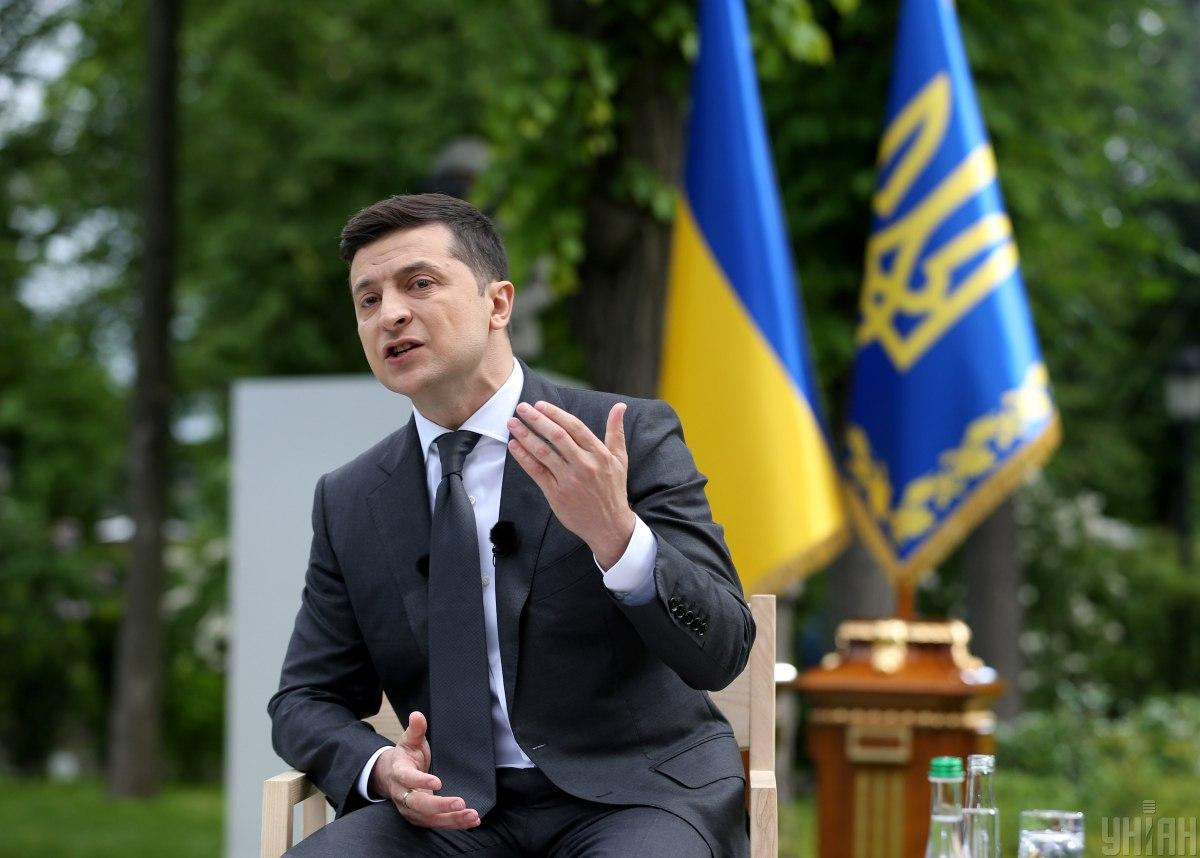Зеленський прокоментував конфлікт з мером Черкас/ фото УНІАН