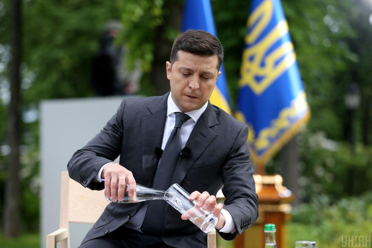 «Дожать» ситуацию на Донбассе Владимир Зеленский планирует дипломатическим путем / Фото УНИАН