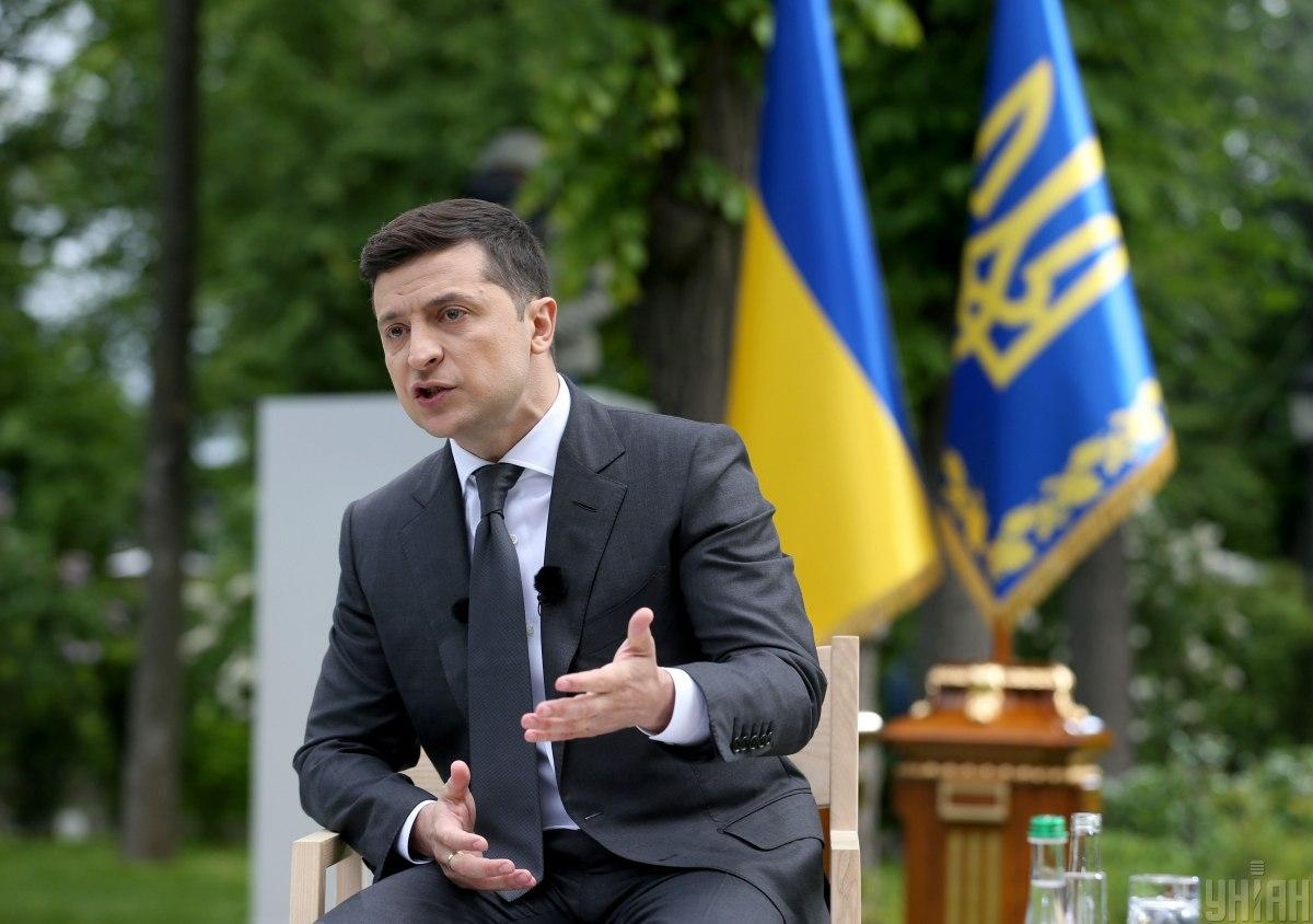 Зеленский пообещал в скором времени передать закон об амнистии капиталов в Раду / фото УНИАН