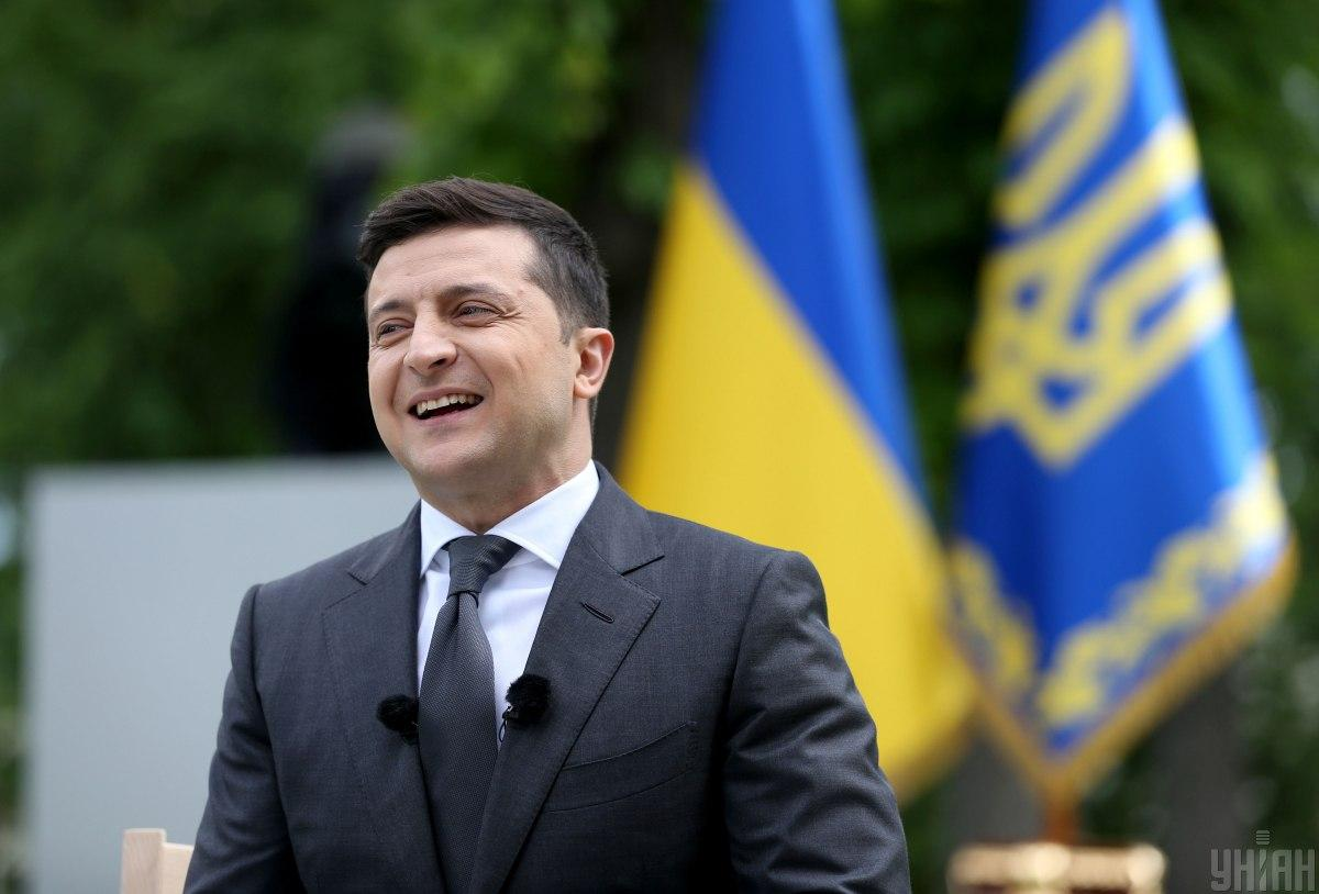​​​​​​​Zelensky spoke of how different he is from Poroshenko / Photo from UNIAN