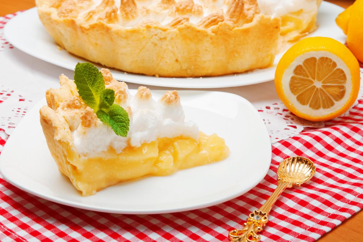 Лимонный пирог - рецепт / фото: ua.depositphotos.com