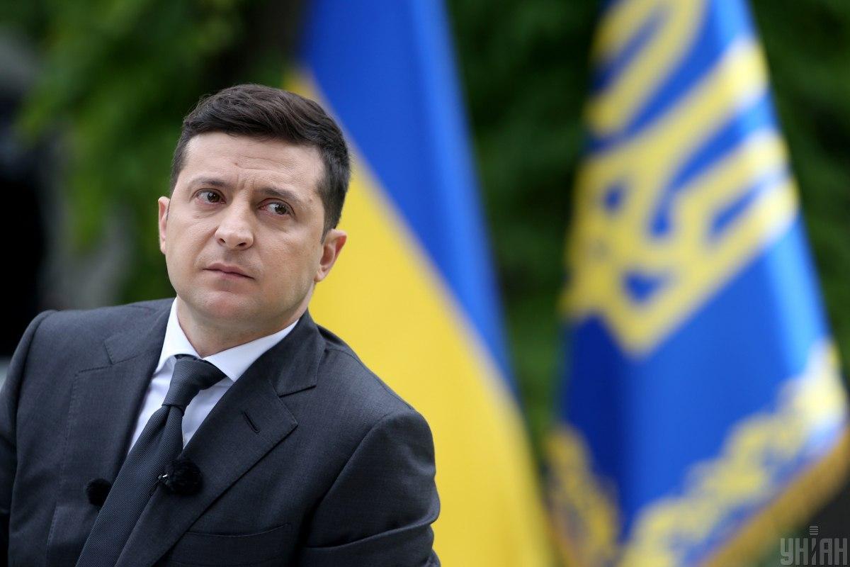 Прездент Украины Владимир Зеленский / фото УНИАН