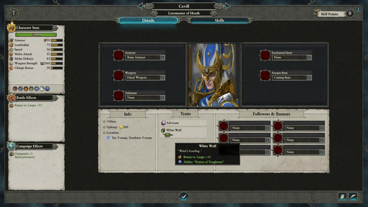 В Total War: Warhammer II появится персонаж, названный в честь Генри Кавилла / pcgamesn.com