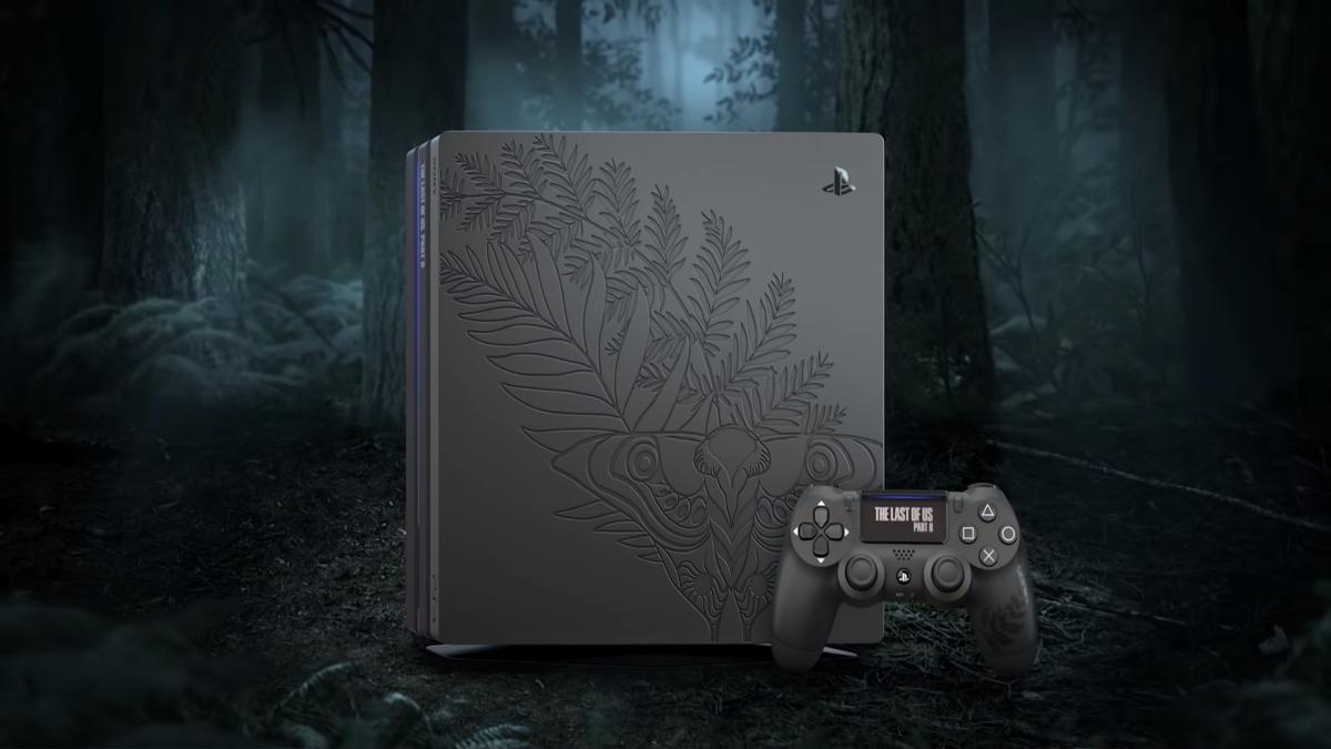 Лимитированная консоль PS4 Pro / spiritgamer.fr