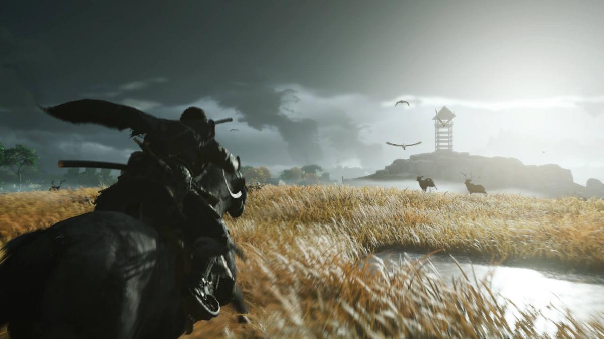 Путешествовать по миру игры можно будет на лошади / store.playstation.com