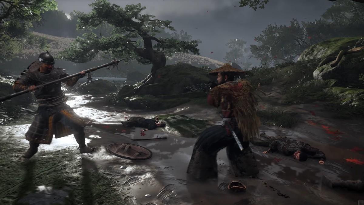 Битва лицом к лицуне бросает тень на честь самурая / скриншот
