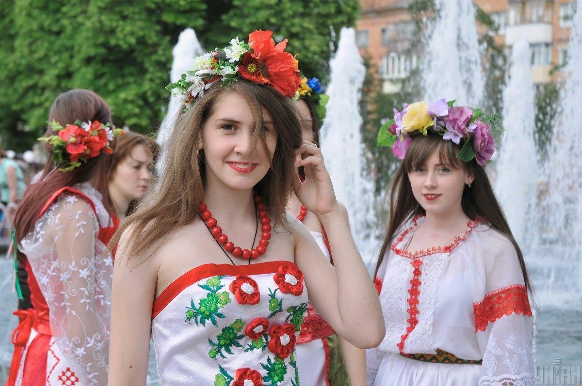 День вышиванки 2020 в Украине / фото УНИАН