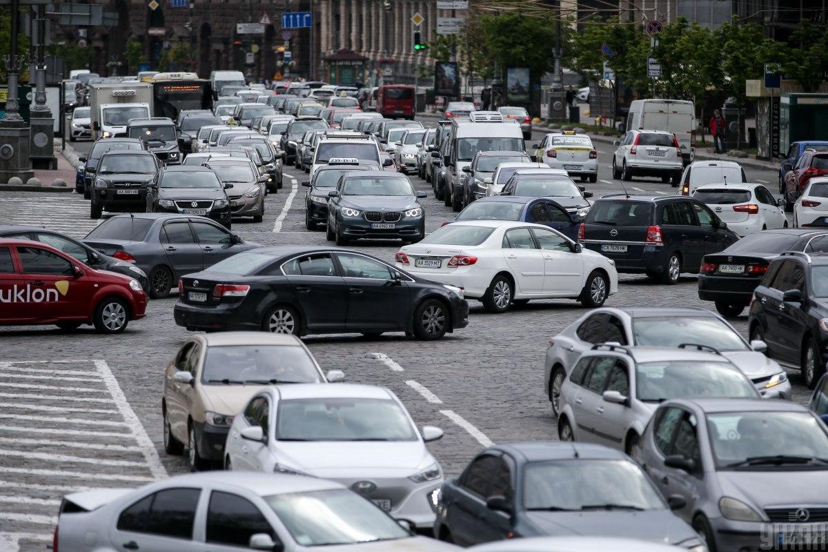 Транспорт - головне джерело забруднення повітря в Києві / фото УНІАН