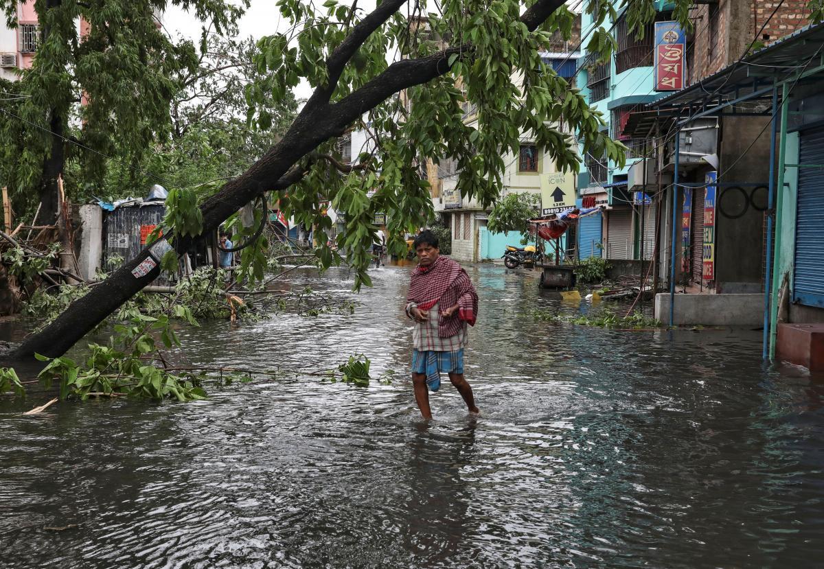 Непогода в Индии / REUTERS