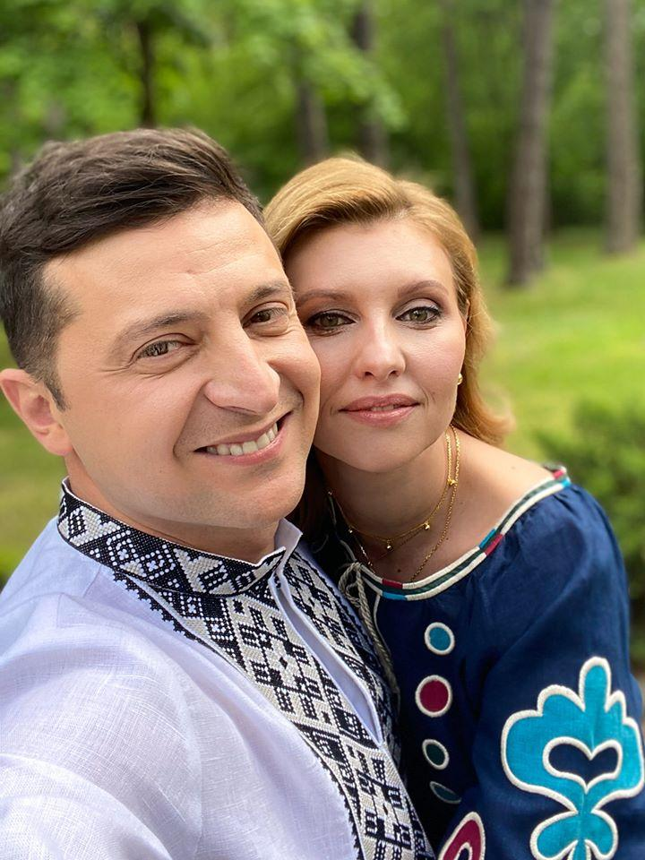 Президент и первая леди Украины / фото: facebook/zelenskiy95