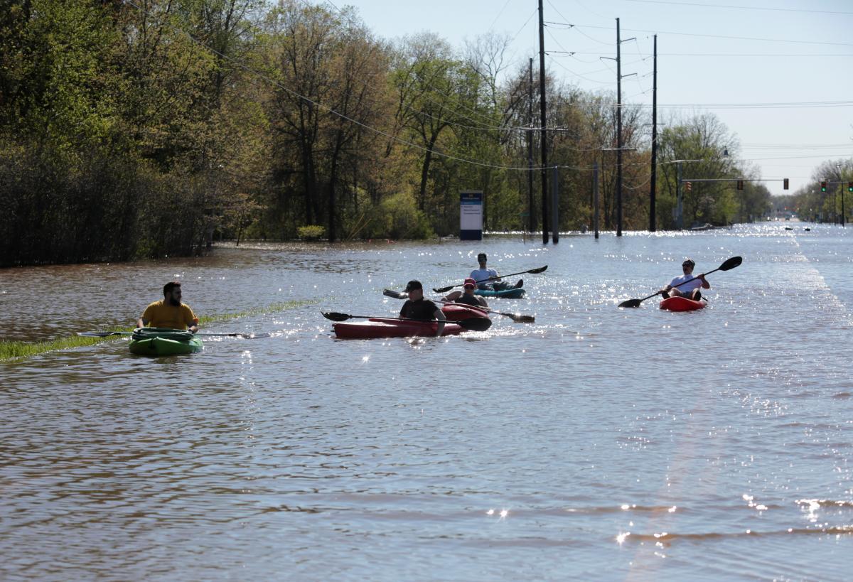 Наводнение в Мичигане / REUTERS