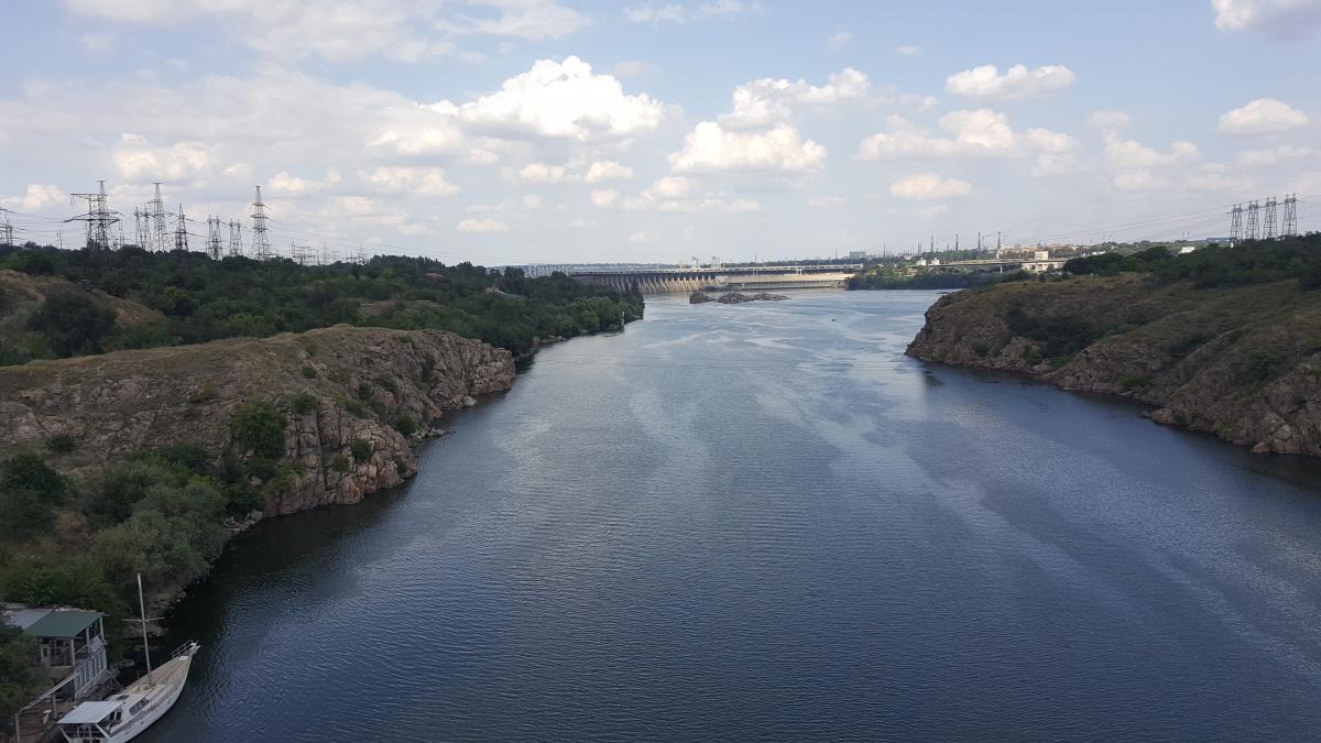 Дніпро не мав паводку/ Фото Alexander Topchiy