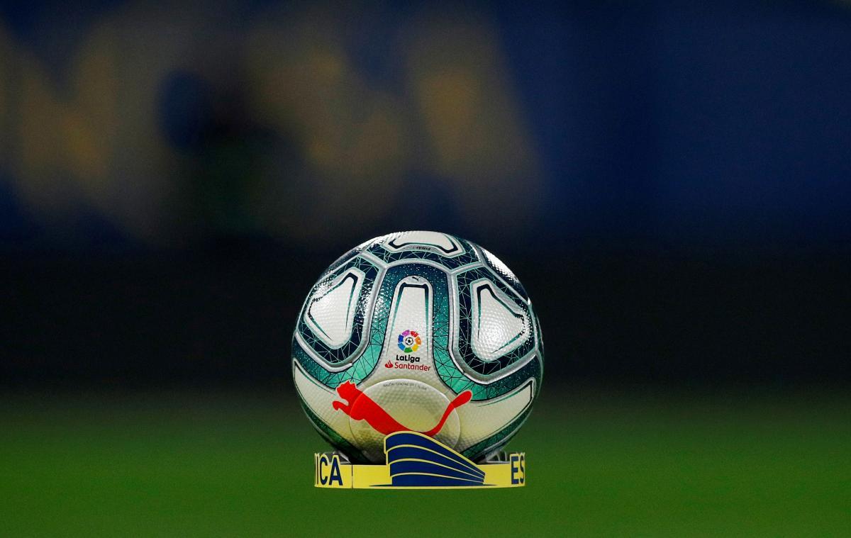 М'яч Ла Ліги / м'яч REUTERS