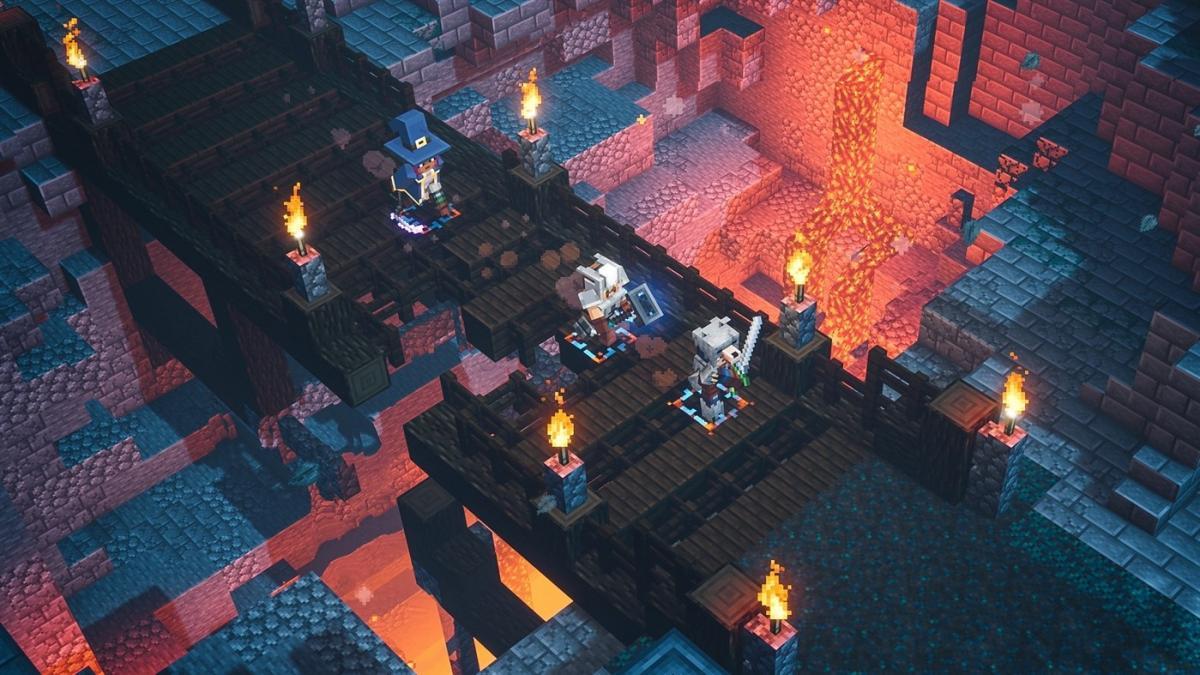 Minecraft Dungeons вийде 26 травня / microsoft.com