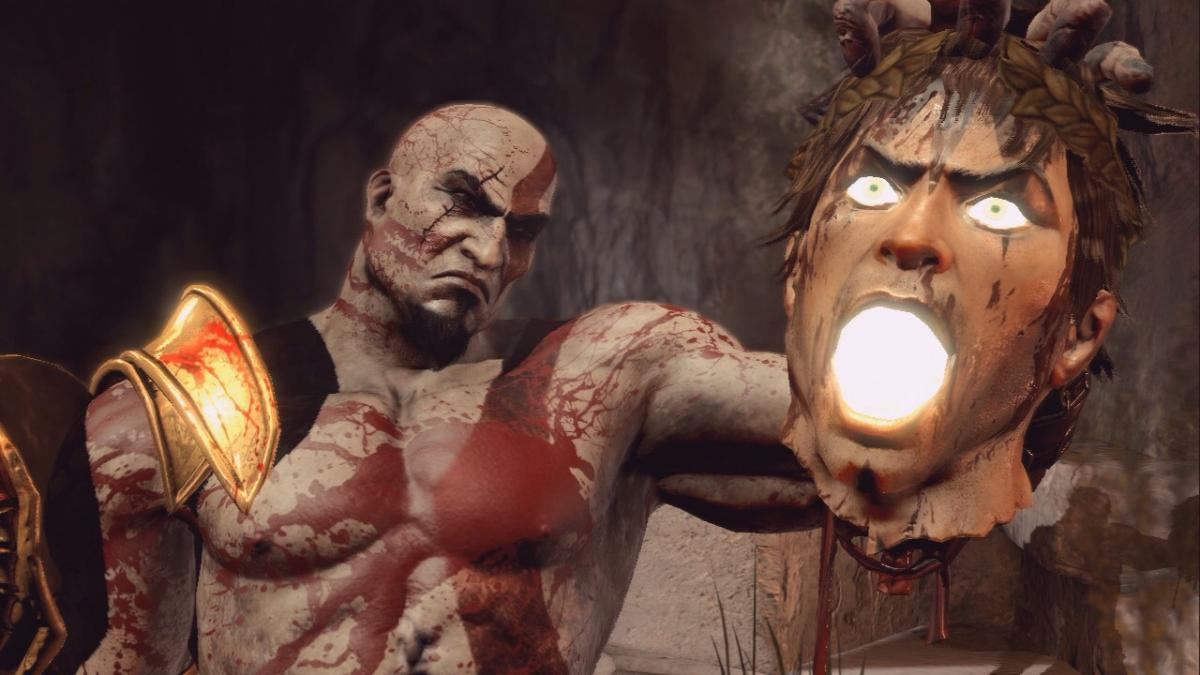 Кратос в God of War 3 / скриншот