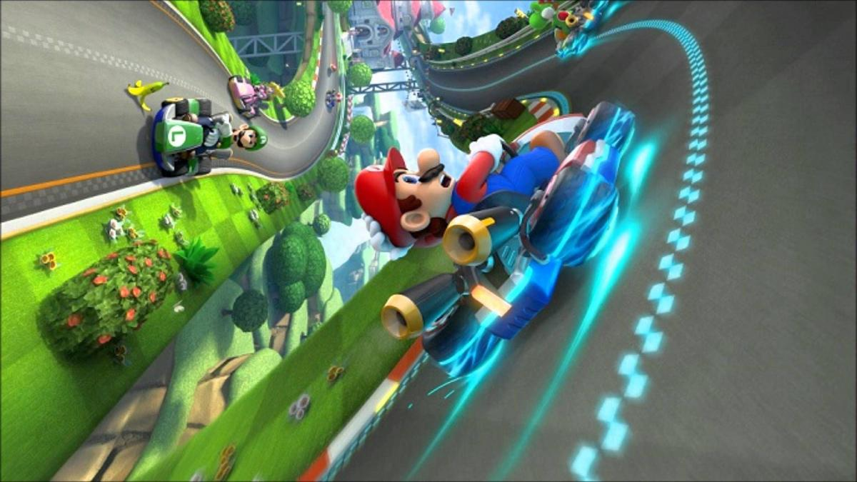Mario Kart 8 Deluxe - эксклюзив Nintendo / youtube.com