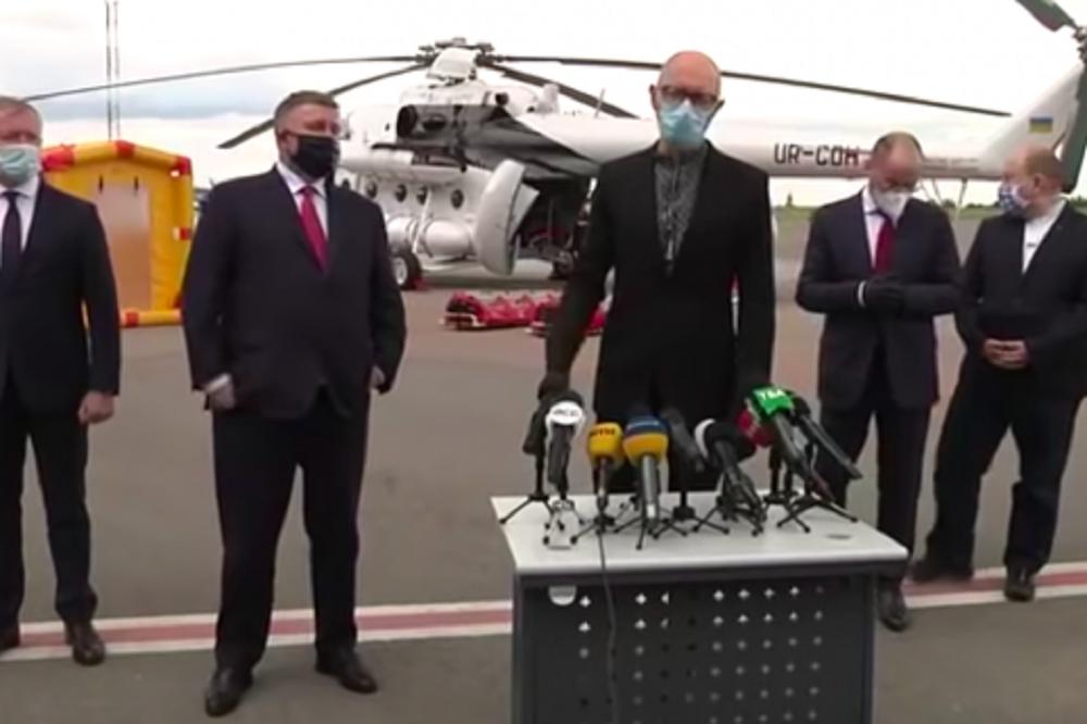 У партії хочуть знати, на якій правовій підставі Яценюк користувався службовим літаком МВС / Скріншот