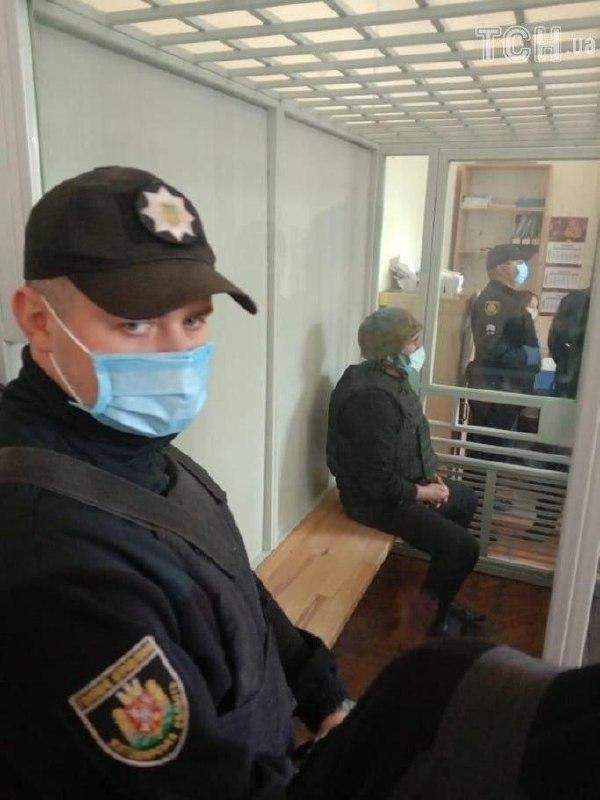 У Корольовському районному суді убивці обирають запобіжний захід/ фото Obozrevatel