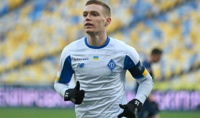 Цыганков приступит к полноценным тренировкам через неделю / фото ФК Динамо Киев
