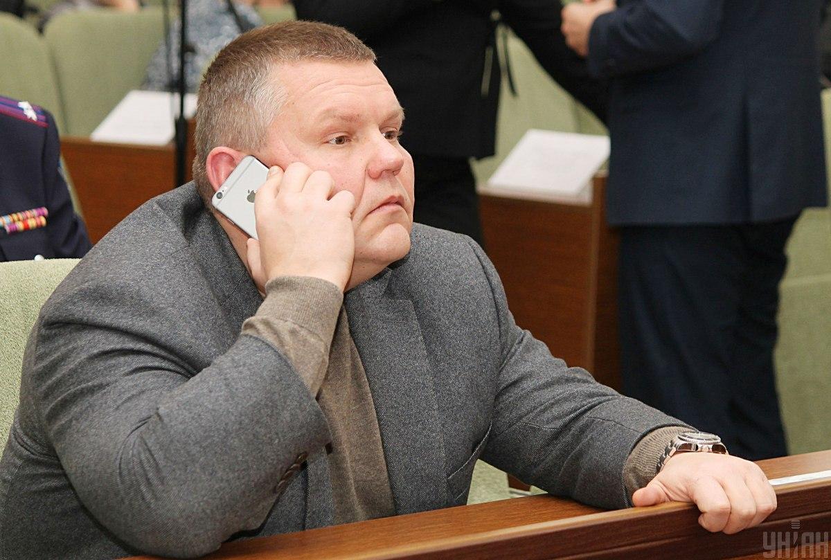 Тіло Давиденка знайшлиз вогнепальним пораненням голови/ фото УНІАН