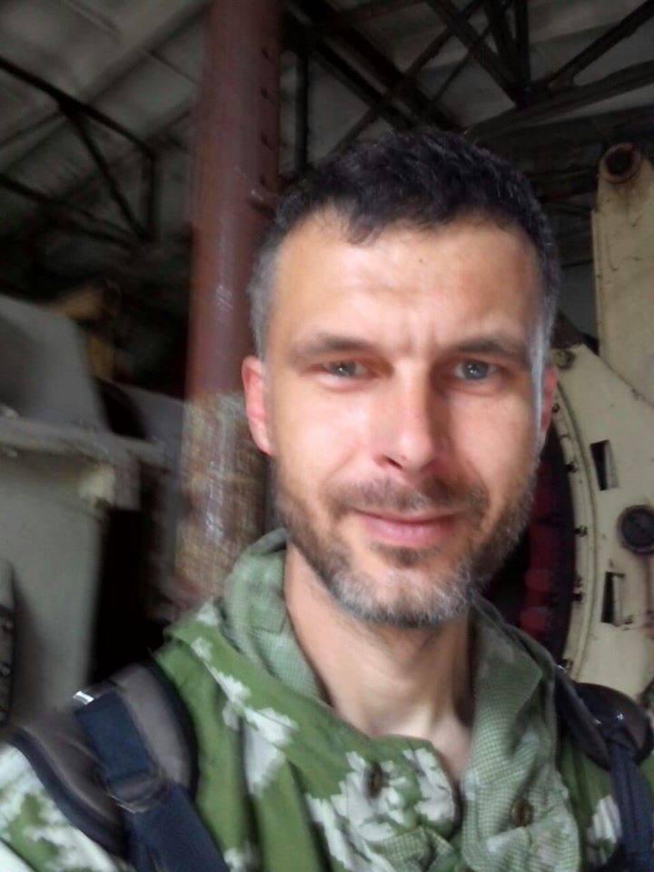 """Ветеран батальона """"Айдар""""Корниенко Игорь Михайлович / фото facebook.com/AYDAR24"""