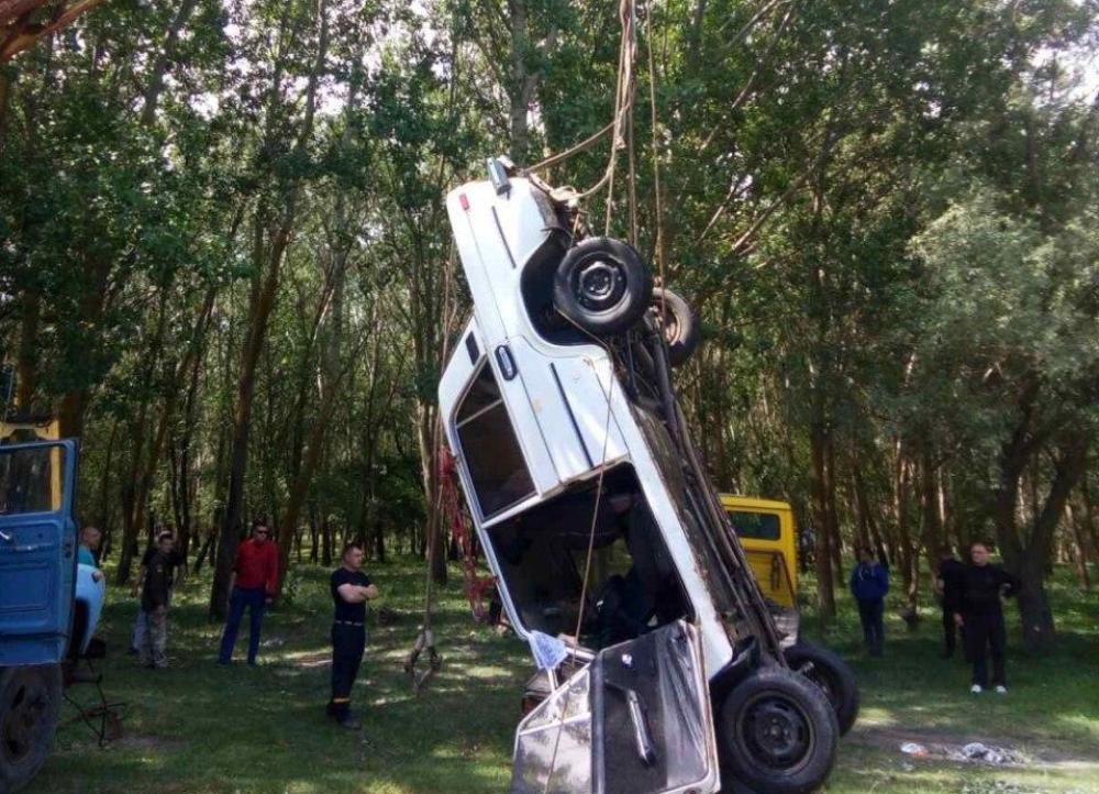 В Одесской области автомобиль упал в реку / od.dsns.gov.ua