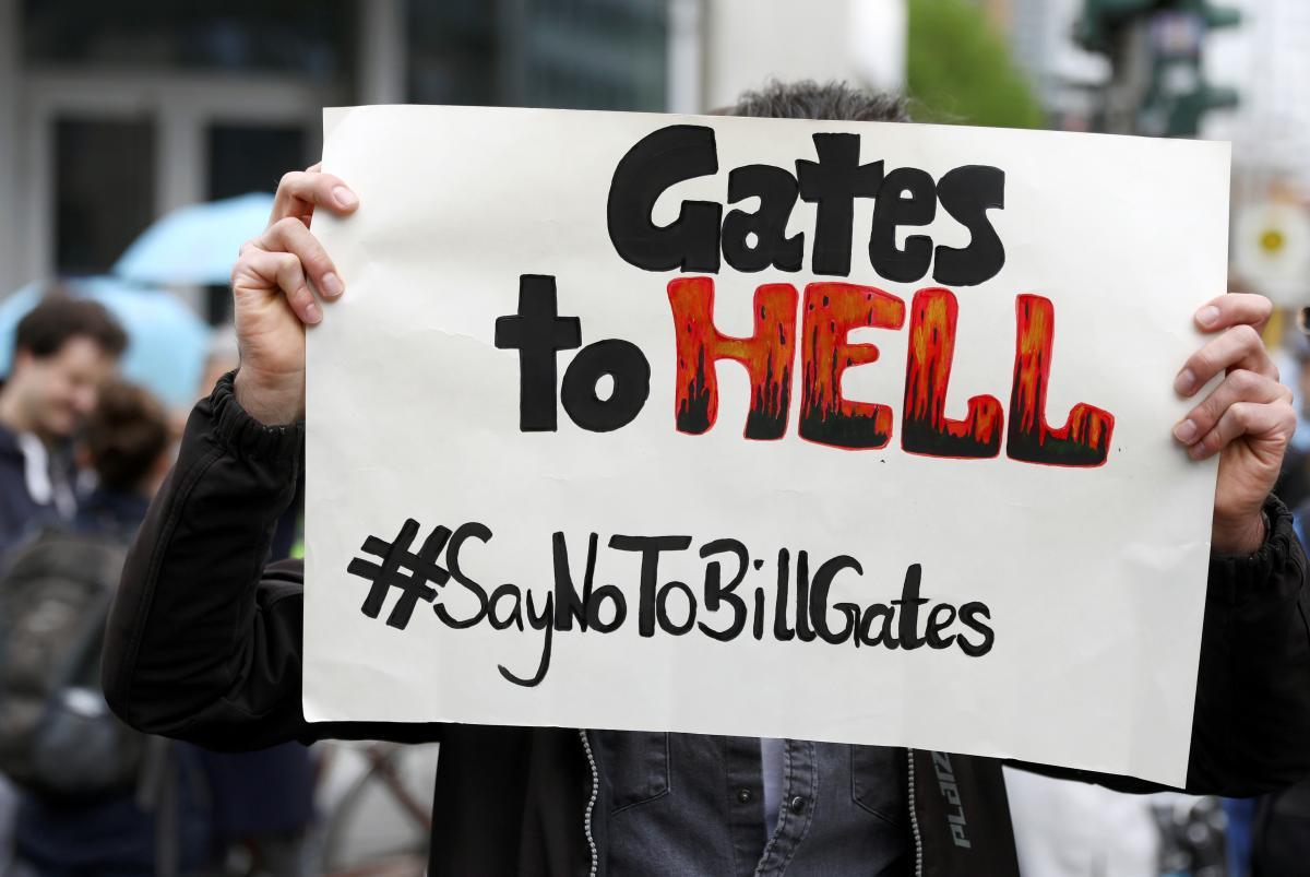 Чимало американців бояться Білла Гейтса більше, ніж коронавірусу / Ілюстрація REUTERS