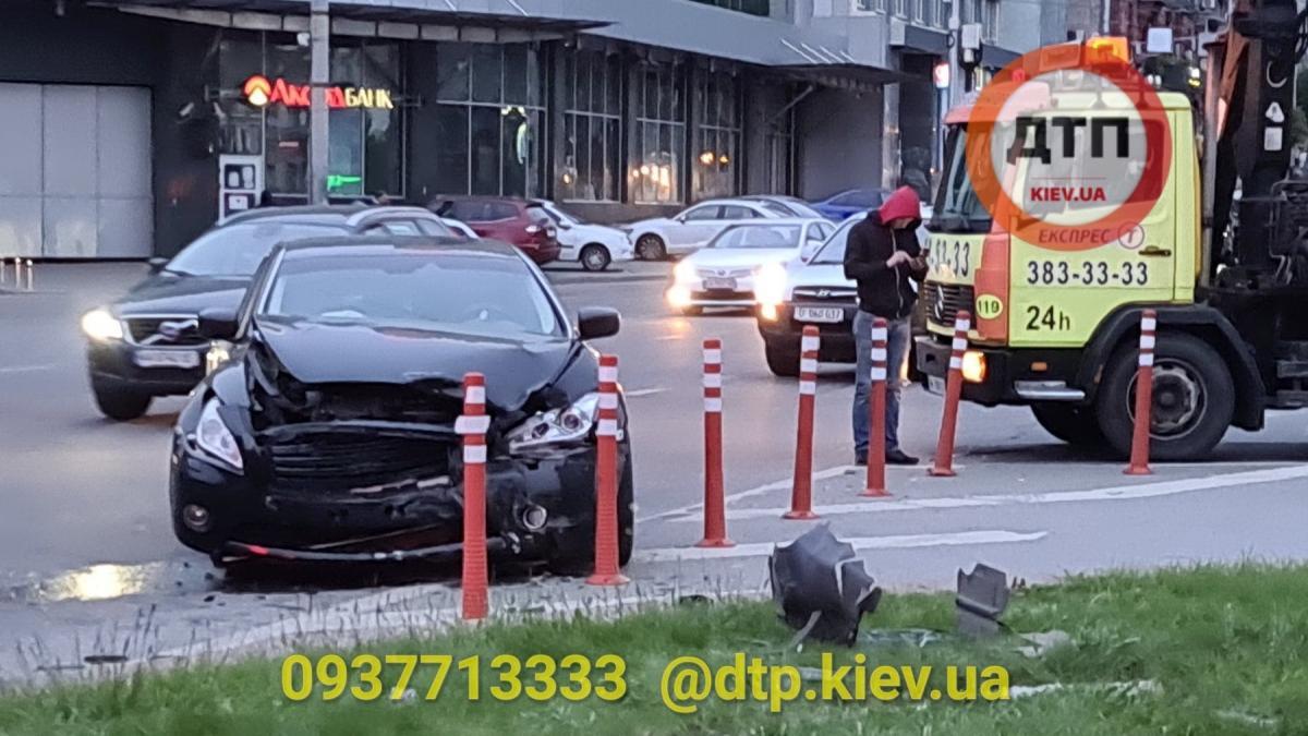 В аварії постраждали діти / dtp.kiev.ua