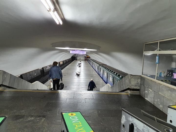 В Харькове сегодня заработало метро/ objectiv.tv