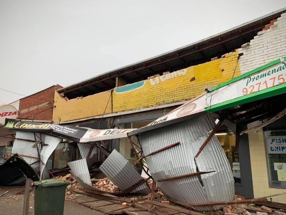 В Западной Австралии бушует сильный шторм / facebook.com/abcperth
